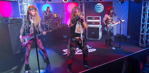 Steel Panther Jimmy Kimmel Live