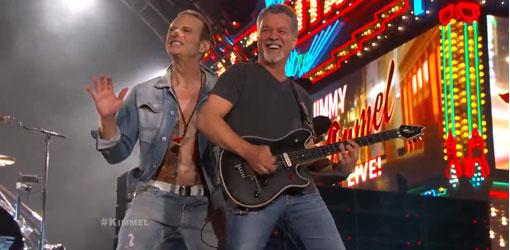 Van Halen Jimmy Kimmel Live