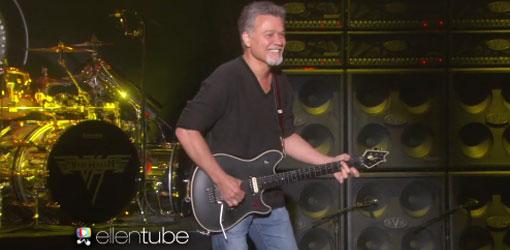 Eddie Van Halen Ellen