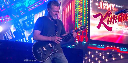 Eddie Van Halen Jimmy Kimmel Live